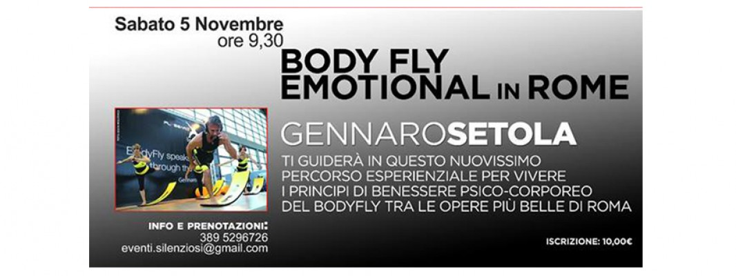 BODYFLY® EMOTIONAL WALKING & STREET WORKOUT ROMA