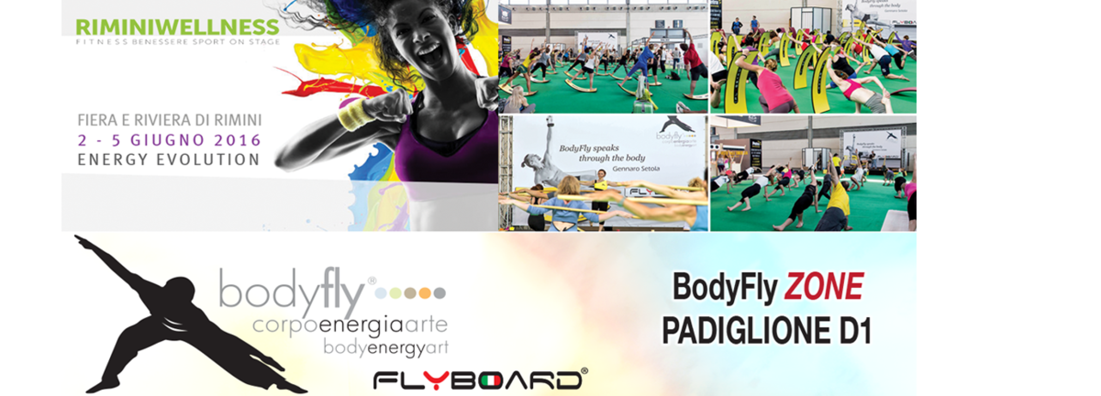 BodyFly ZONE e Flyboard Rimini Wellness 2016