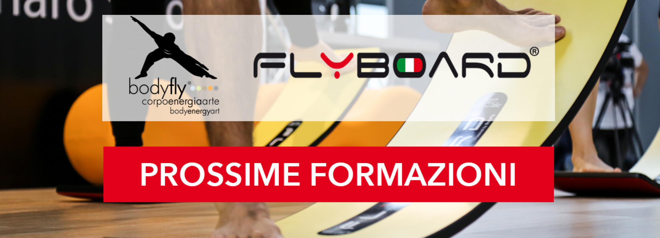 BodyFly e Flyboard prossime formazioni fitness